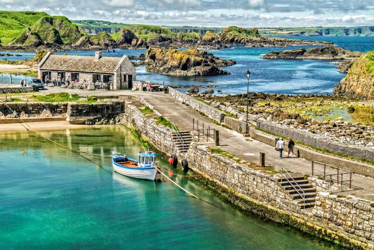 Ballintoy Harbour County Antrim Northern Ireland Northern Ireland Ireland Scenery