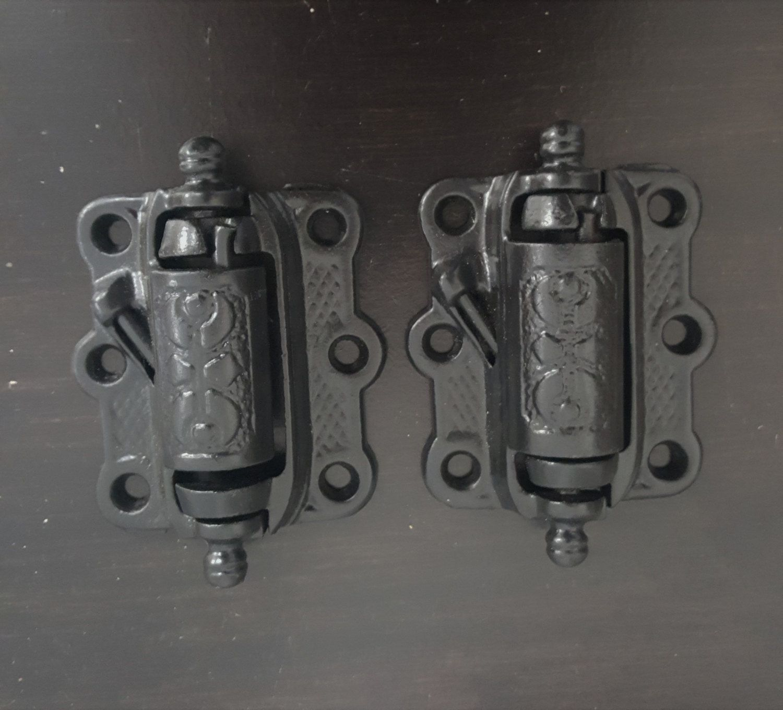 Iron Vintage Screen Door Hinges 530867 By CharlestonHardwareCo On Etsy