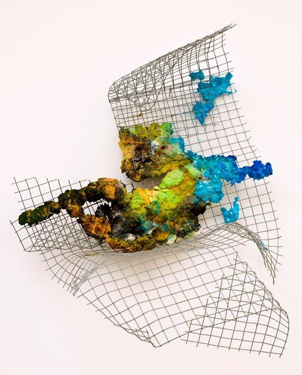 Richard Tuttle, The Place In The Window, II, #7, 2013