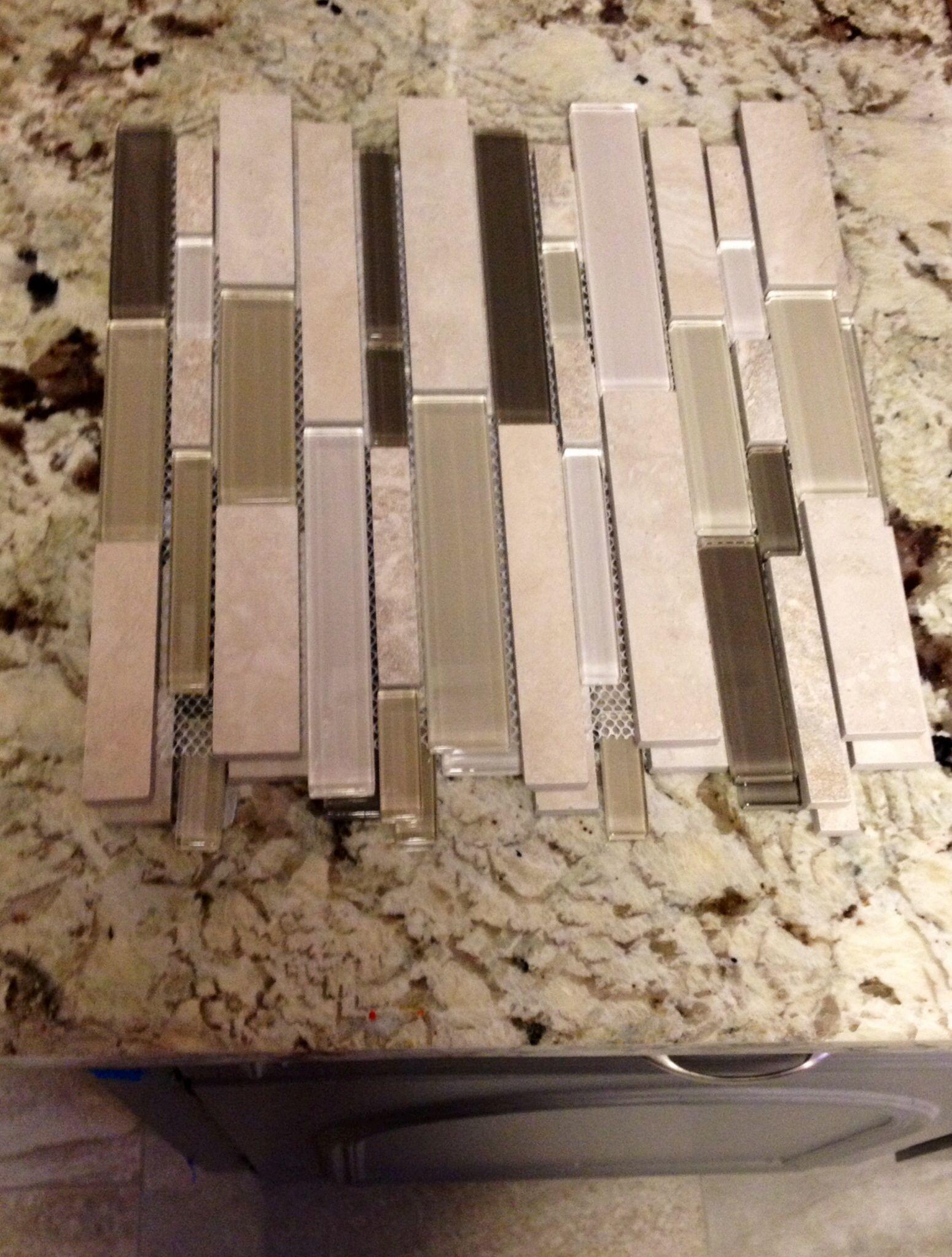Best Alaska White Granite Grey Backsplash From Floor Decor 400 x 300