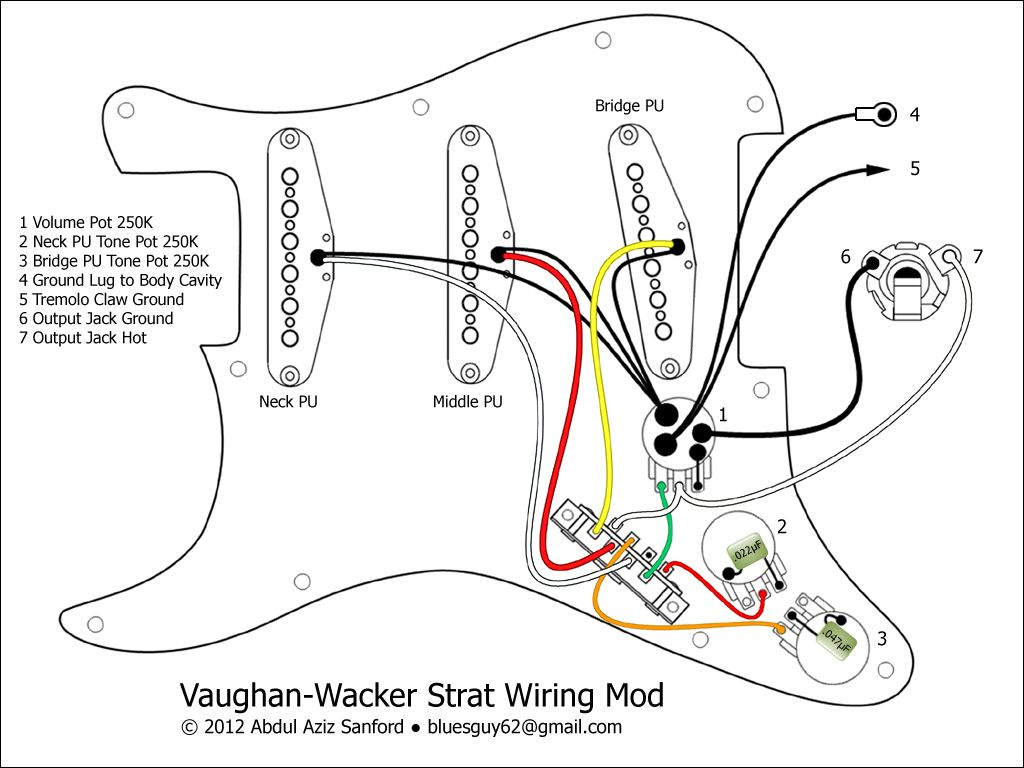 fender guitar stratocaster wiring diagram wiring library vintage fender electric guitars fender electric guitar wiring diagrams [ 1024 x 768 Pixel ]