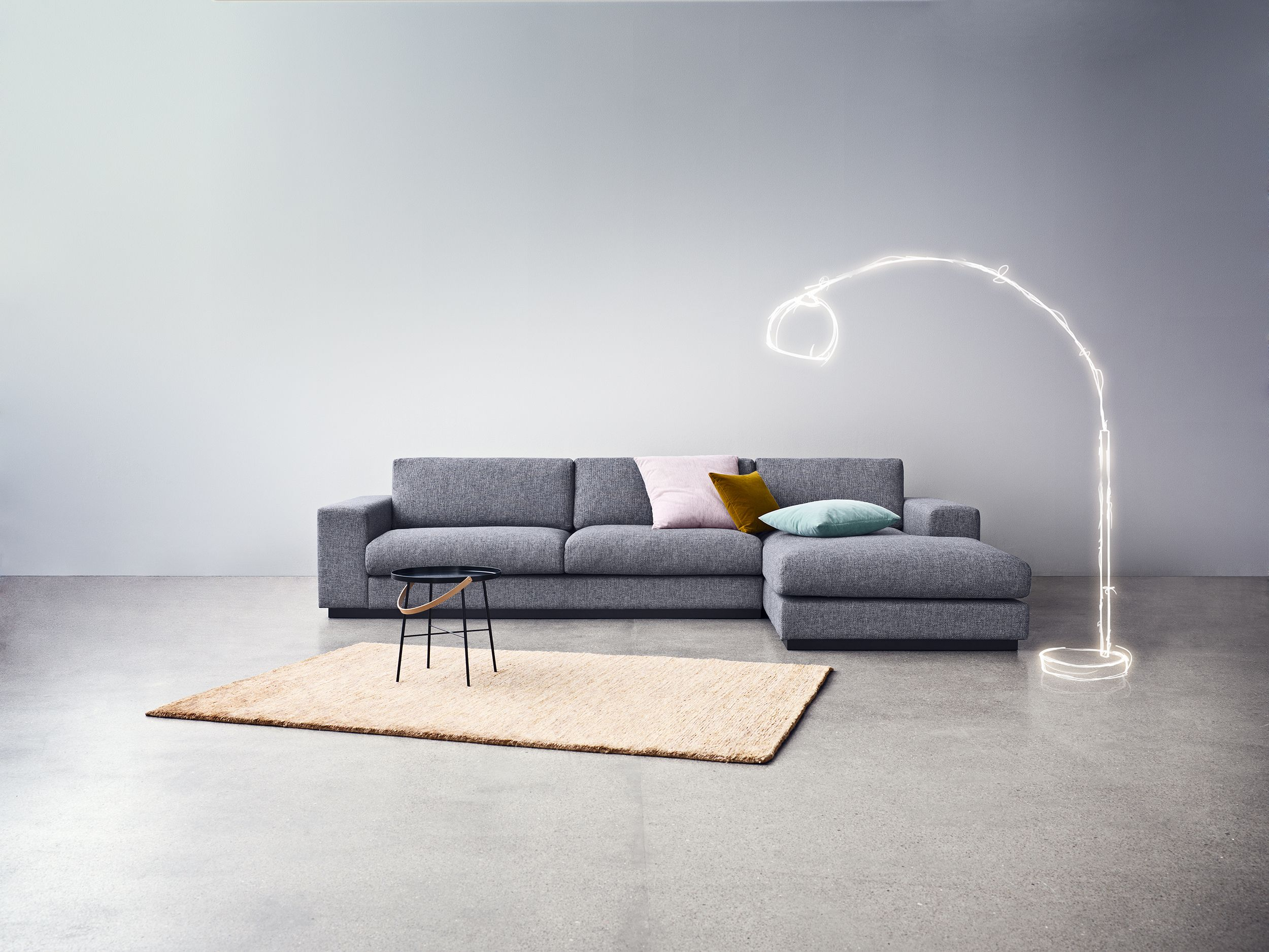 bolia scandinavia sofa nantes multi grey Googlesk Interior
