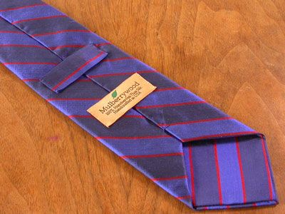 How we make our custom made / bespoke ties by David Hober