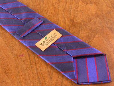 How we make our custom made / bespoke ties by David Hober ...