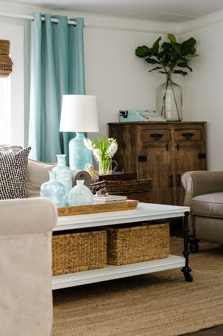 10 Most Popular Turquoise Living Room Accents