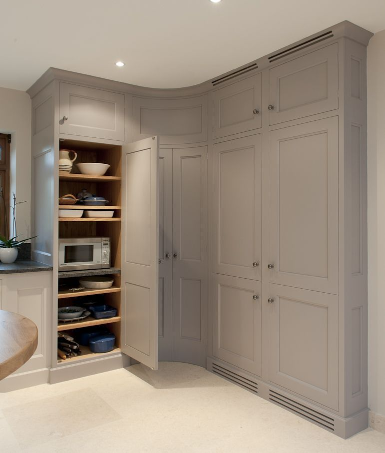 Kitchen Corner Cupboard, Tall Kitchen Cabinets With Doors