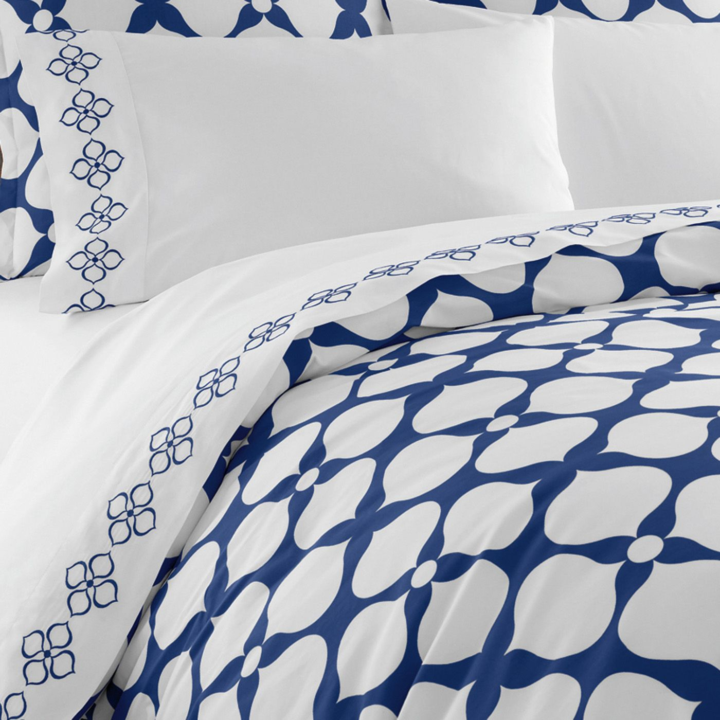 Modern bed sheets pattern - Jonathan Adler Navy Hollywood Duvet Cover In Duvets Would Like With Hot Pink Walls And