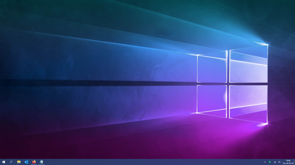 It Should Be Common Knowledge By Now That Saving Files On The Desktop Is Not The Way To Go But Despite This Fact Ma Windows 10 Wallpaper Windows 10 Declutter