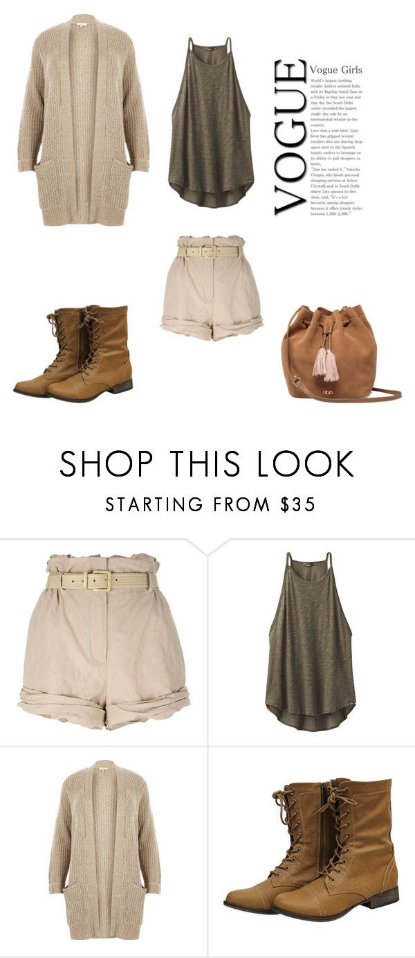 """Untitled #7"" by yanaevs08 ❤ liked on Polyvore featuring Moschino, prAna, River Island and UGG"