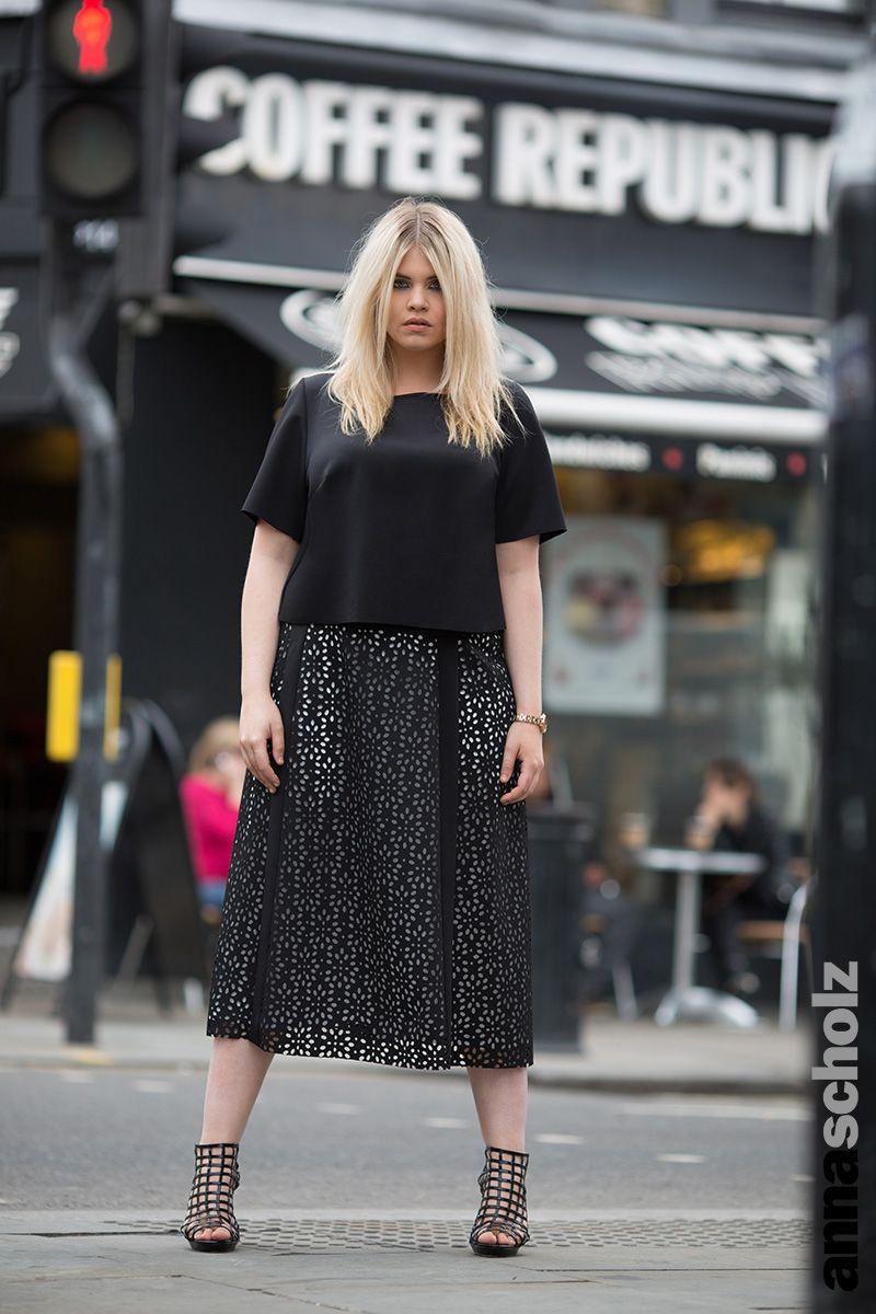 759e71ef69 Anna Scholz Plus Size Street Style Capsule Collection