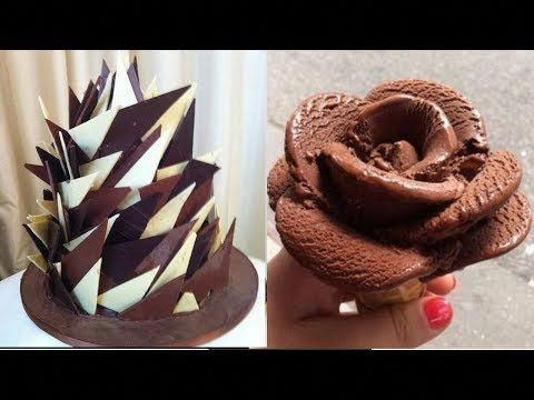 How To Make A Rose Swirl Cake - Rosas con crema de mantequilla #cakedecoratingvideos