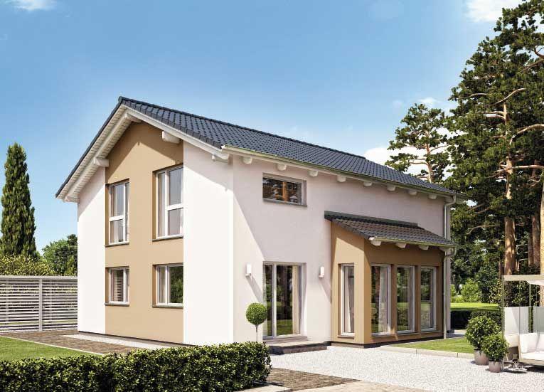 Fertighaus Variant 25166 Hanse haus, Einfamilienhaus, Haus