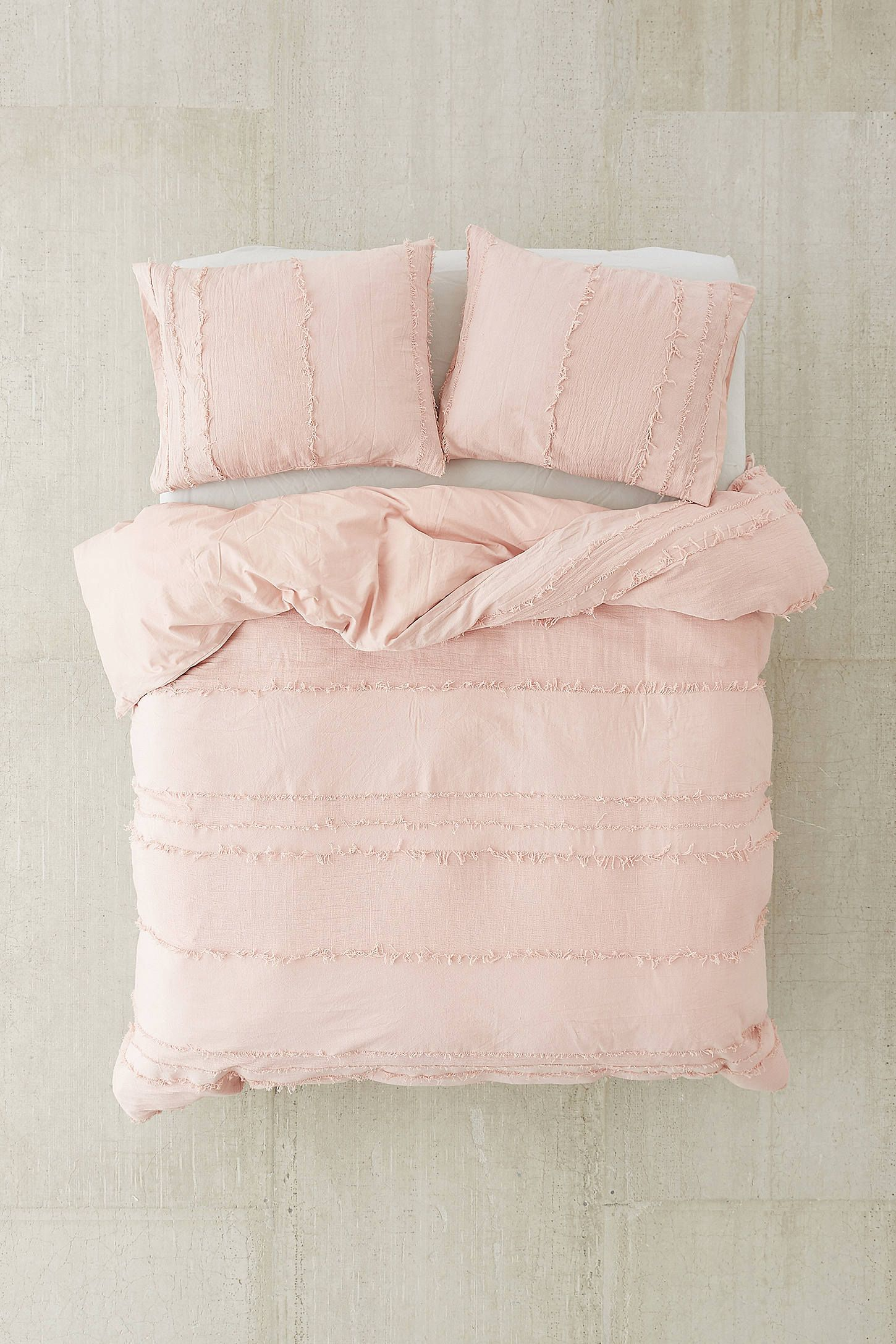 Willow Fringe Duvet Cover Urban outfitters bedding