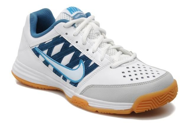 on sale f3737 f4c5a nike court shuttle v white blue Squash Shoes, Tennis, Trainers, Real Tennis,