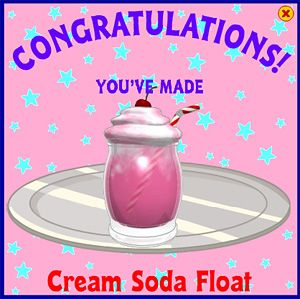 Cream Soda Float