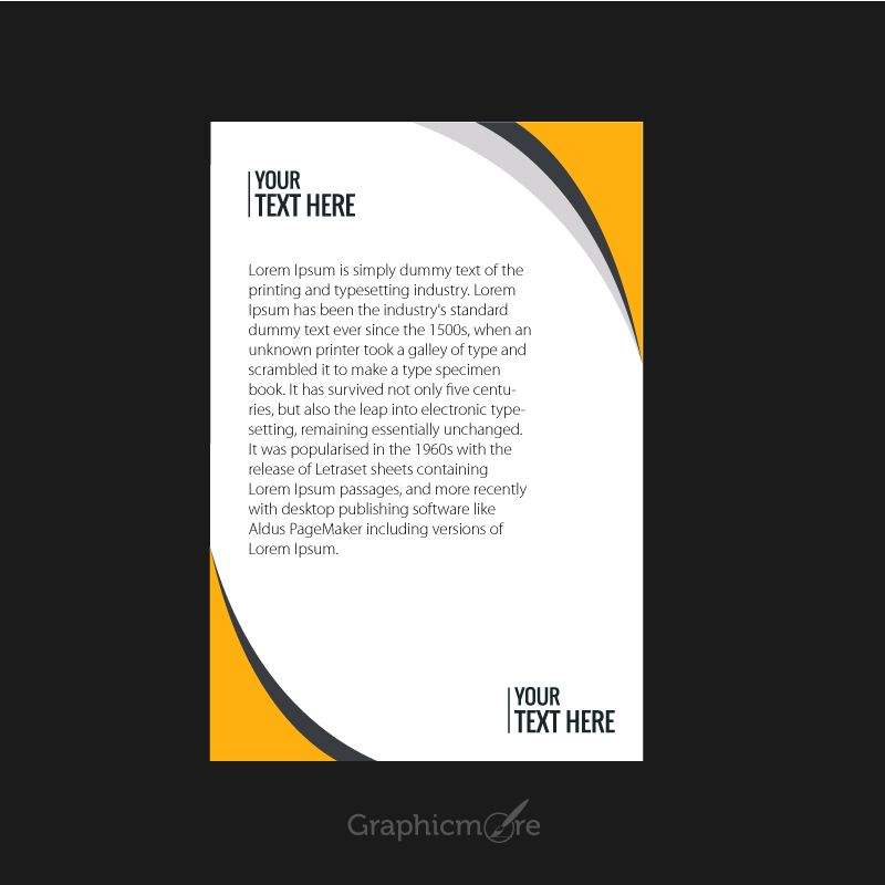 Psd Corporate Letterhead Template 000401: Corporate Letterhead Design
