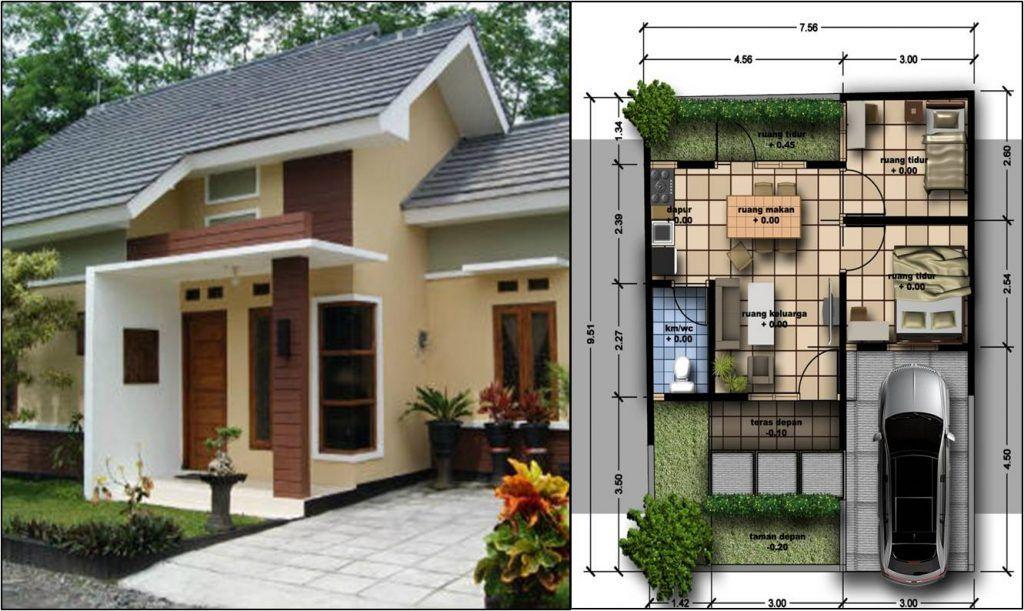desain rumah berbentuk kotak minimalis modern pinterest