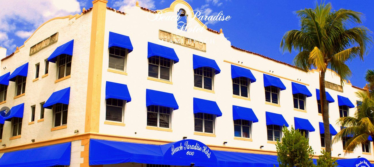 Beach Paradise Hotel In Miami South Found A Decent Rate Here At One Point