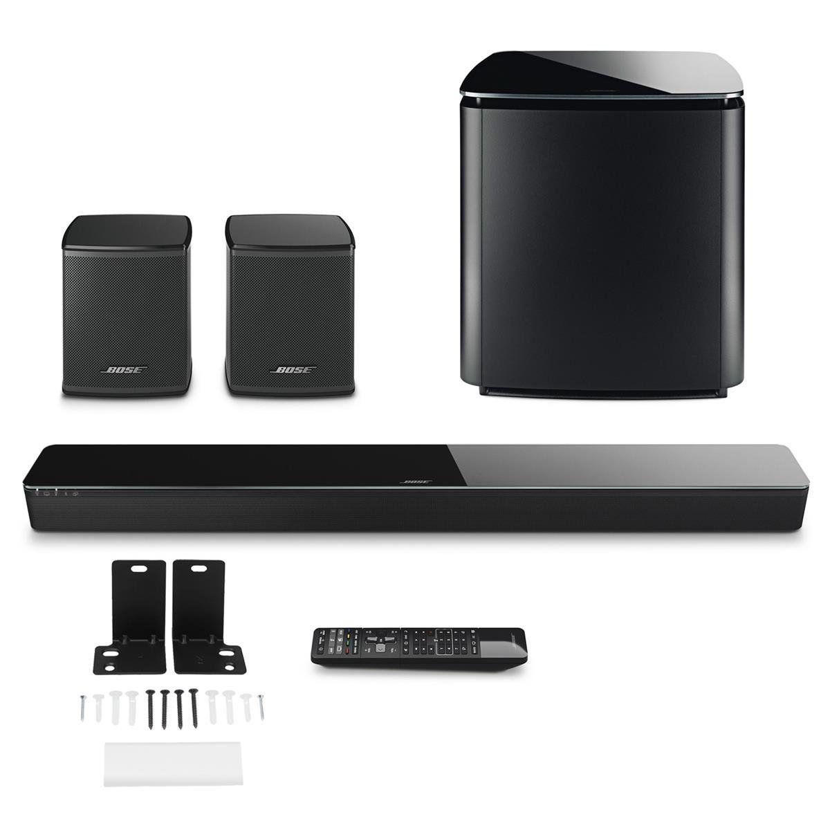 Bose Soundtouch 300 Soundbar W Wb300 Wall Bracket Wireless Acoustimass 300 Bass Module Wireless Sur Sound Bar Wireless Surround Speakers Surround Speakers
