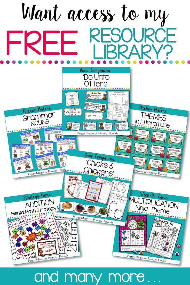 Resource Library Sign-Up | Teaching resources and Library signs