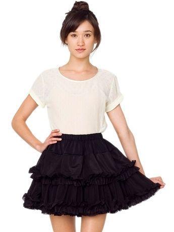 Multi-Layered Reversible Petticoat | Shop American Apparel - StyleSays