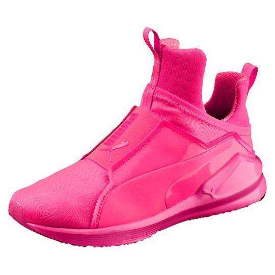 Femmes Féroce Chaussures De Sport En Maille Brillante Pumas JTQdrCOs