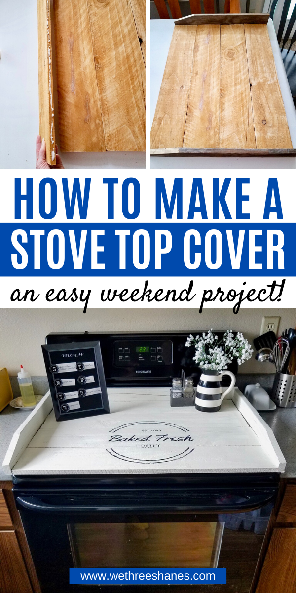 How to Make a Stove Top Cover