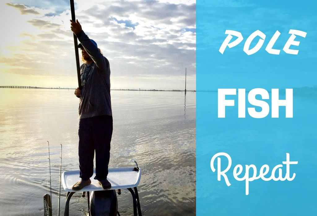The only way to start the morning....Pole! Fish! Repeat! #reellife #letgetreel #Wednesdaymorning #humpday