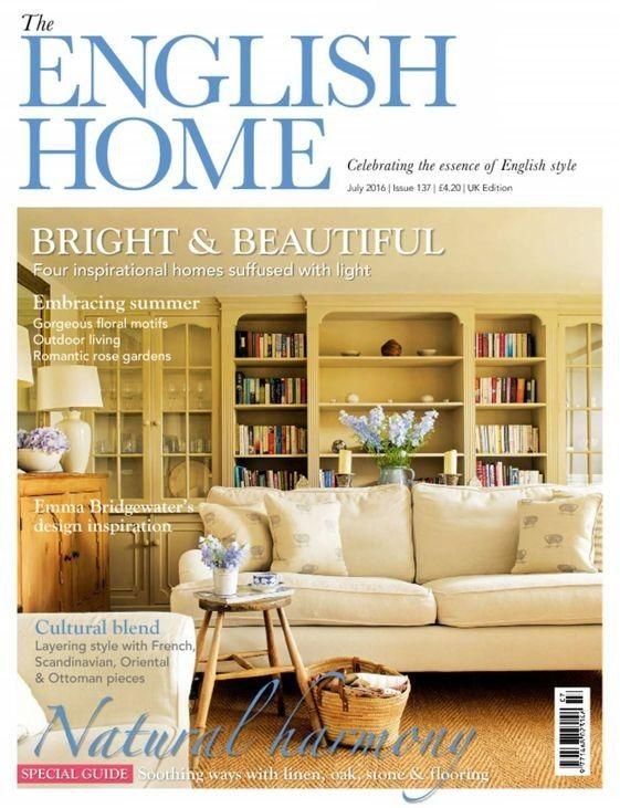 The English Home Uk Magazine Subscription Usa House And Home Magazine English House Home