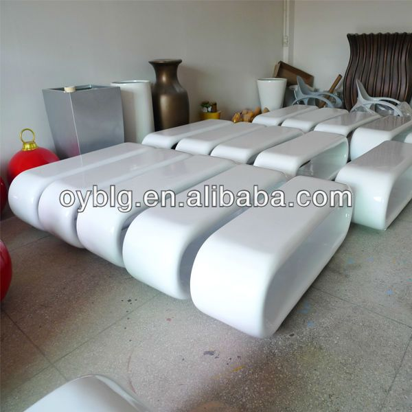 Fiberglass Outdoor Furniture Garden Decorative Chairs