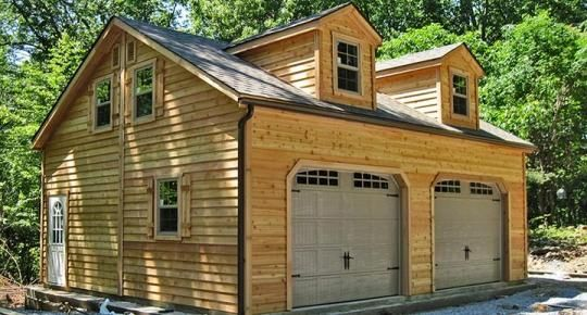 14x32 1 Car 2 Story Garage Prefab Garages Buy A Garage Garage Apartments