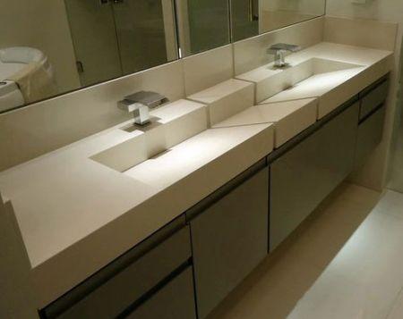 Bancadas De Banheiro E Lavabo Clique Arquitetura Bancada