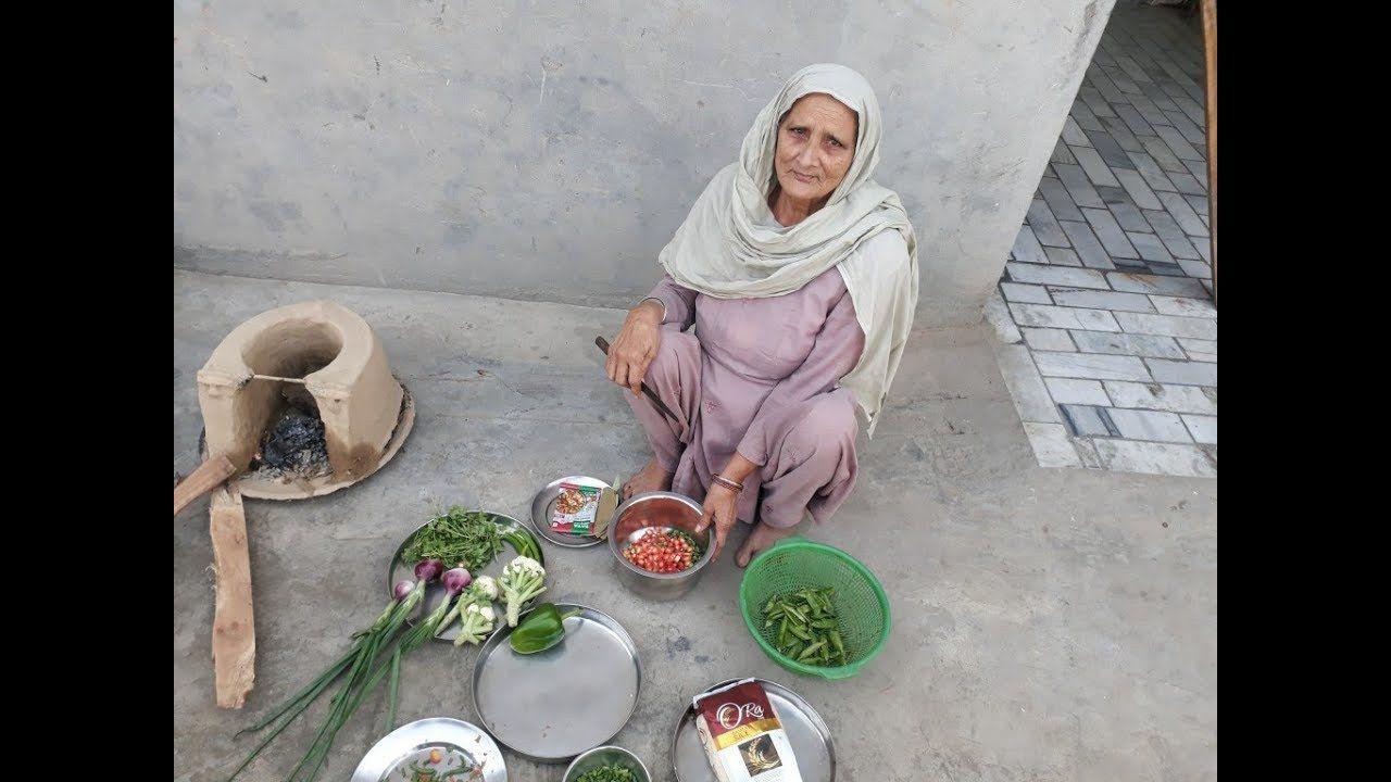 85 Year Old Granny Prepared Vegetable Biriyani Veg Biryani