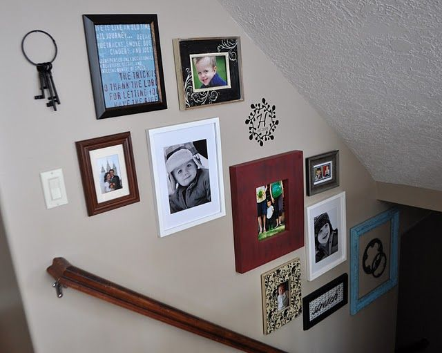 Decorating with Portraits at I am Momma Hear me Roar | Pinterest