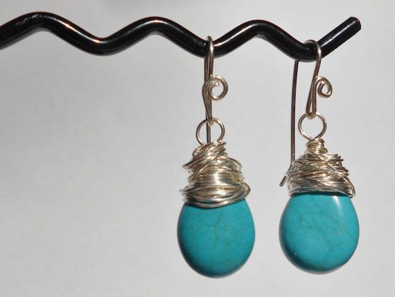 Statement earrings Sterling silver sterling by GoingTribal on Etsy, $18.00