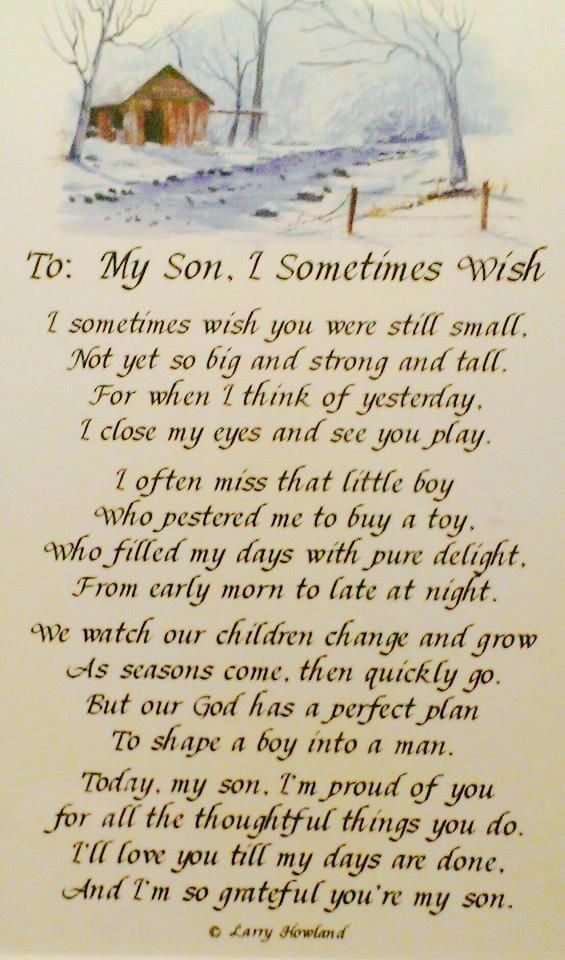 My Son I M So Proud Of You Son Quotes My Son Quotes Son Poems