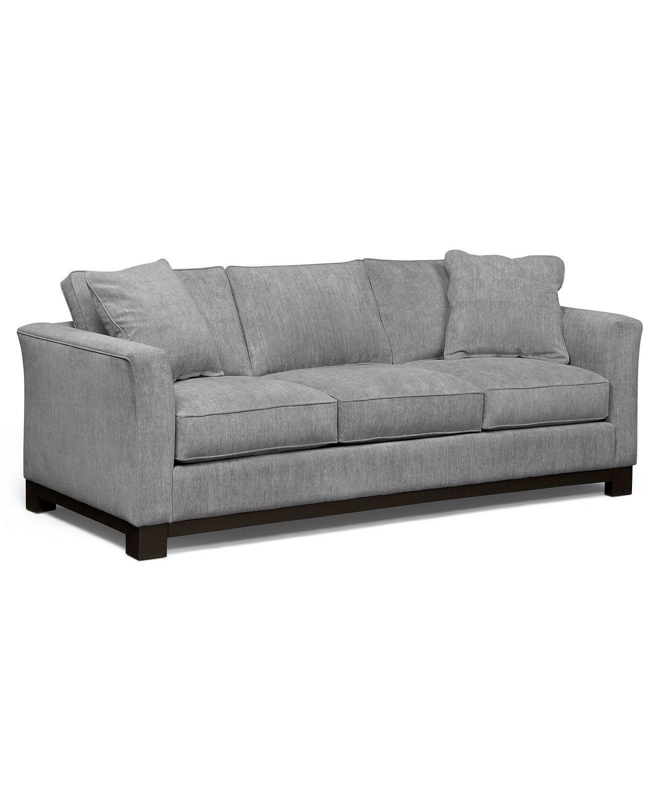 Kenton Fabric Sofa Custom Colors Created for Macy s