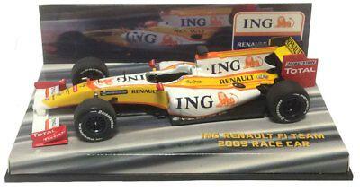 Minichamps ING Renault Race Car 2009 1:43