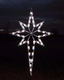 Large Star Of Bethlehem Light Pure