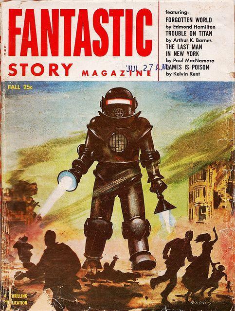 Fantastic Story Magazine 1950 Pulp Comic Books: Fantastic Story Magazine Fall 1954. I'm Pretty Sure This