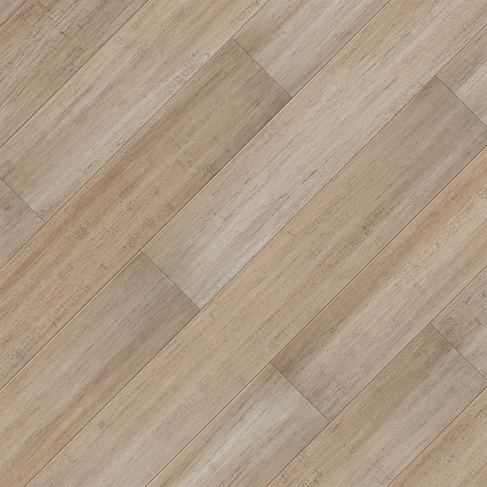 Home Legend Take Home Sample Hand Scraped Strand Woven Mojave Click Lock Spc Wr Bamboo Flooring 5 In X 7 Bamboo Flooring Flooring Water Resistant Flooring
