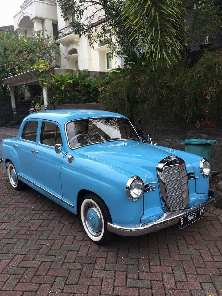 Koleksi Mobil Antik Mercy Ponton 180 Tahun 1955 Mobil Antik Mobil Klasik