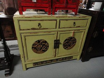 Asian Inspired Media Cabinet/Console Los Angeles by housecandyla, $899.00