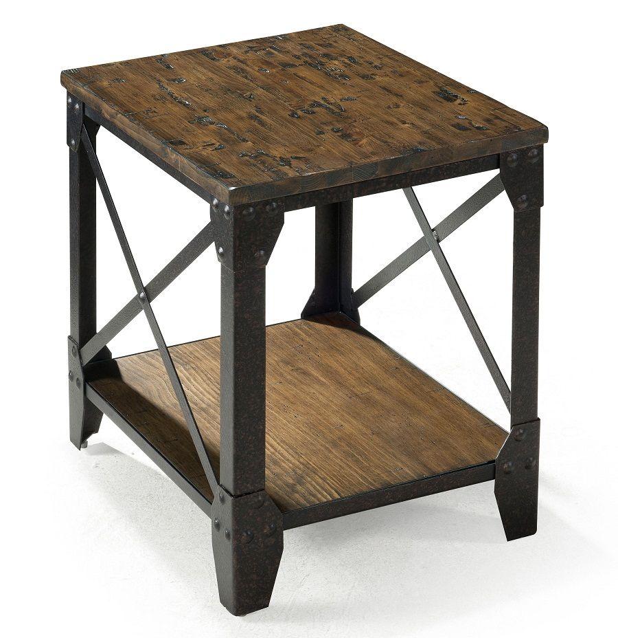 Rustic Reclaimed Wood End Table Furniture Pinterest Semplice - B5efa285d8d2610ebeedb98091680a83.jpg