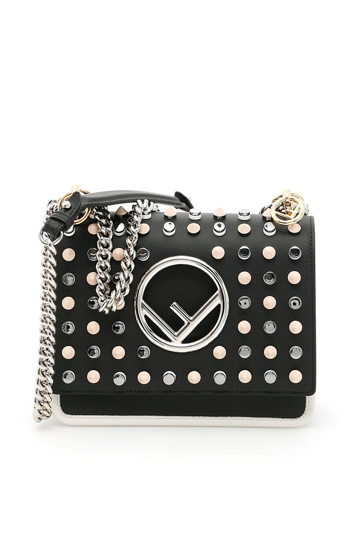 e3001b85fccf  Italist -  Fendi Small Kan I F Bag With Studs - AdoreWe.com