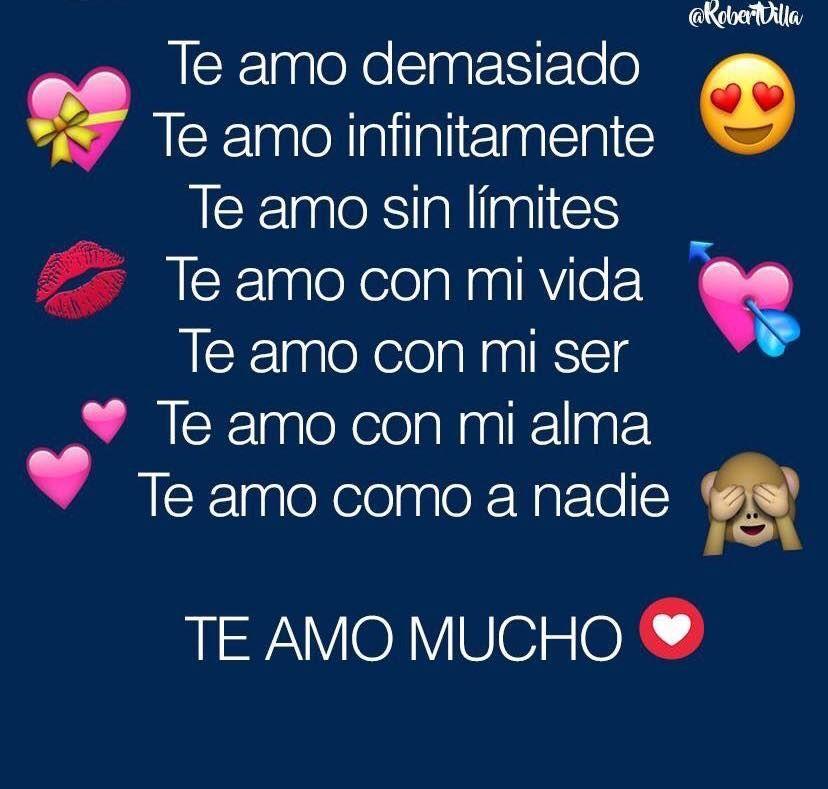 Pin De Jessica En Cute Love Quote Te Amo Mi Amor Frases