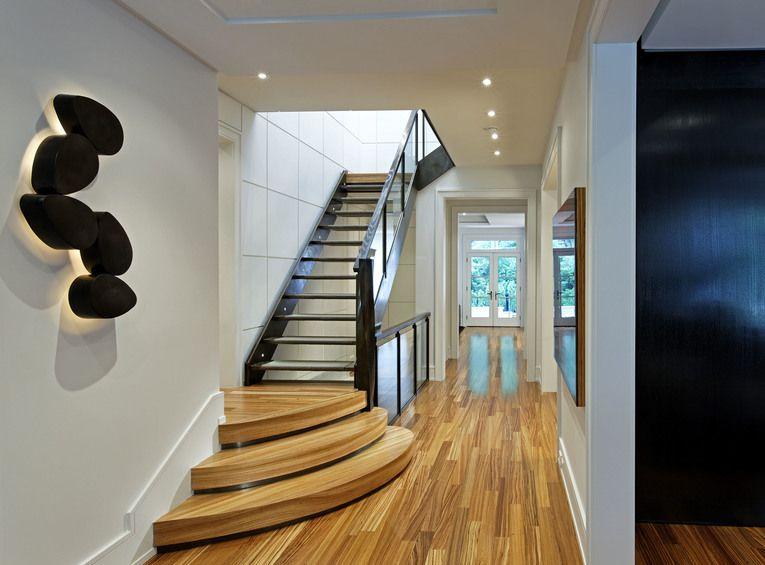 Douglas design studio toronto canada interior designer jeffrey dering hall contemporary staircase hallway also rh pinterest