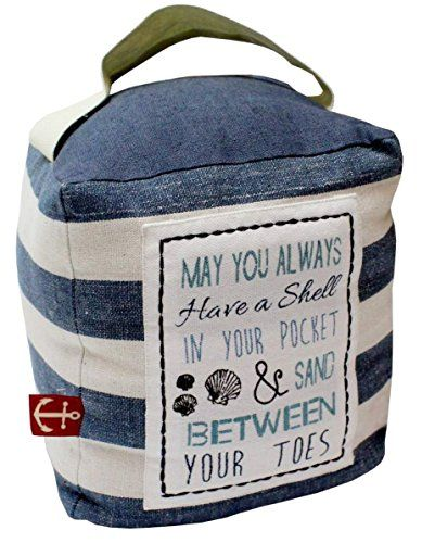 Nautical Fabric Blue And White Striped Doorstop ~ Seaside Door Stop Carousel Home http://www.amazon.co.uk/dp/B014UTZODE/ref=cm_sw_r_pi_dp_PY-gwb0GV0YQE
