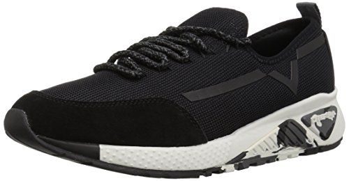 Diesel Men's SKB S KBY Sneaker, Black, 10.5 M US | Coolest