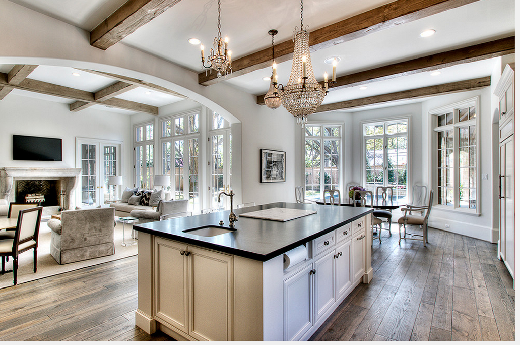 floor plan, high ceilings and light | Kitchen style, House ...
